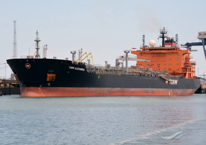Torm Alexandra. Picture courtesy Vesselfinder, appearing in Africa PORTS & SHIPS MARITIME NEWS