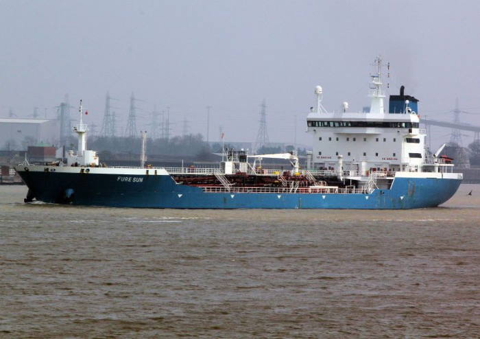 Chemical tanker Wesley. Picture courtesy Balticshipping.com, featured in Africa PORTS & SHIPS maritime news
