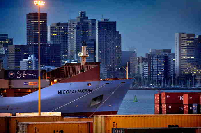 Durban and its port, featured in Africa PORTS & SHIPS maritime news
