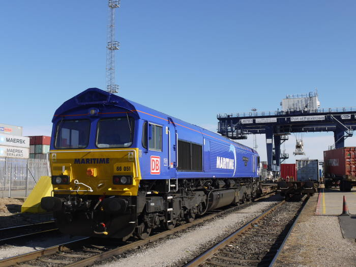 Felixstowe maritime rail service, featured in Africa PORTS & SHIPS maritime news