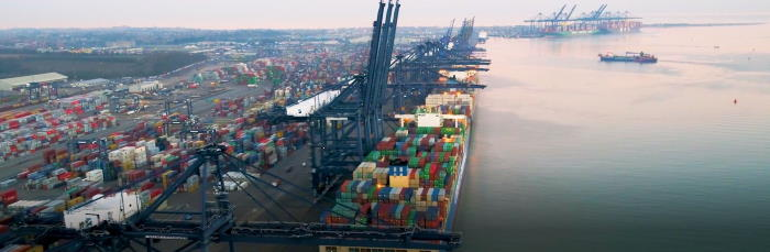 Freeport, East Felixstowe, featuring in Africa PORTS & SHIPS maritime news