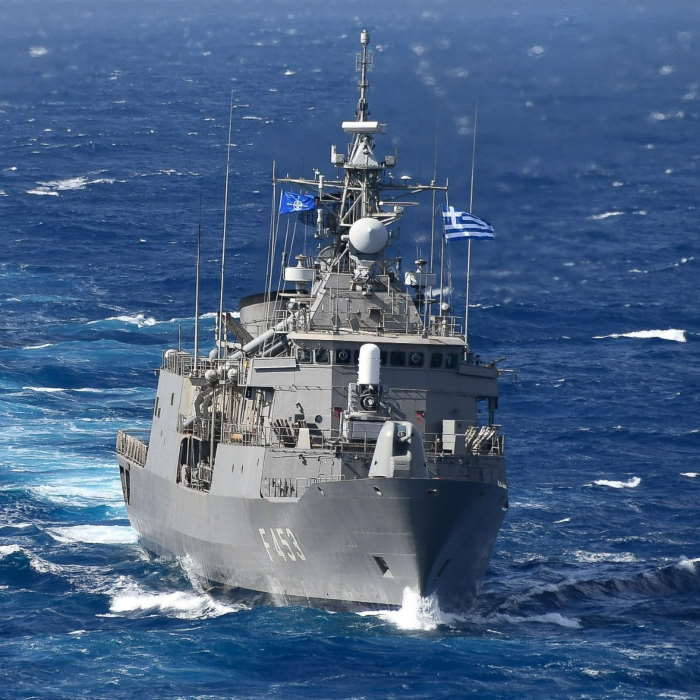 Greek flagship Spetsai. Picture: Hellenic Navy / NATO ©, featuring in Africa PORTS & SHIPS maritime news