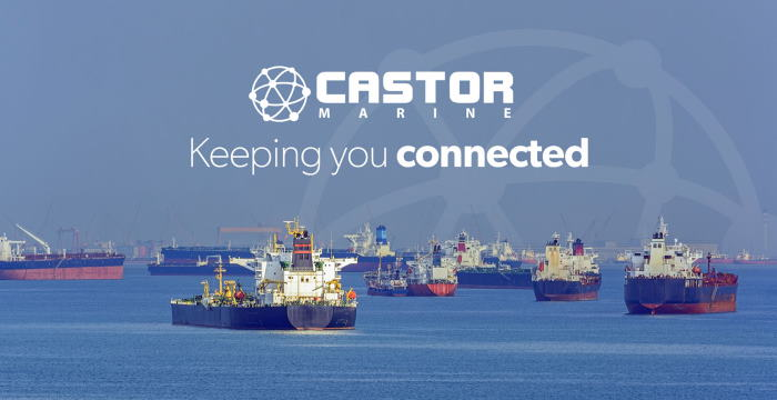 Castor Marine banner on disolay in Africa PORTS & SHIPS maritime news