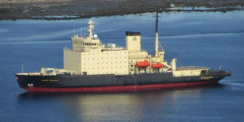 The ice breaker passenger ship Kapitan Dranitsyn (IMO 7824405) which called at Cape Town this past week., featured in Africa PORTS & SHIPS maritime news