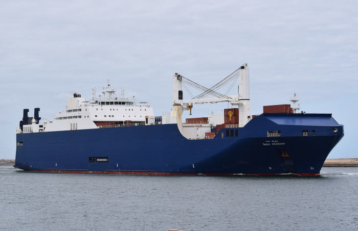 Bahri Jeddah Picture by: Trevor Jones, featuring in Africa PORTS & SHIPS maritime news