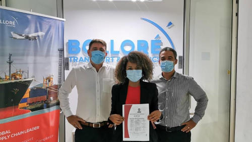 Bollore recieves ISO 9001 certification in Mozambique, reorted by Africa PORTS & SHIPS maritime news