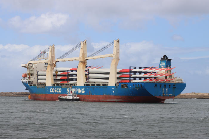 Da Xin Pictures by: Keith Betts and featured in Africa PORTS & SHIPS maritime news