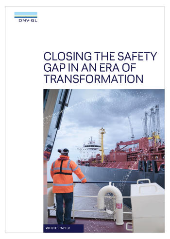 DNV GL W\hite paper available through Africa PORTS & SHIPS maritime news
