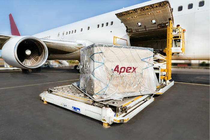 APEX airfreight, apperaing in Africa PORTS & SHIPS maritime news