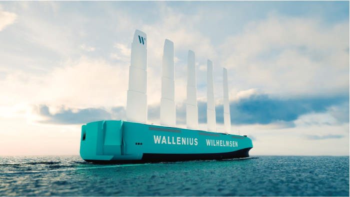 Orcelle Wind, with Wilhelmsen Wallenius preparing to build and operate Image: WW, featured in Africa PORTS & SHIPS marfitime news