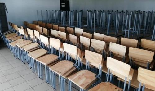 300 desks and chairs were handed over to the Onawa Secondary School by NAMPORT's Social Investment Fund. Picture: Namport, featured in Africa PORTS & SHIPS maritime news