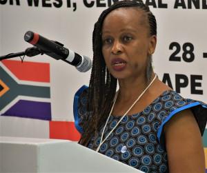 Ms Tsepiso Taoana-Mashiloane, SAMSA's new acting CEO featured in Africa PORTS & SHIPS maritime nes