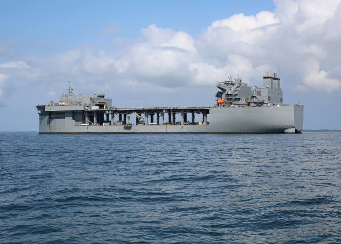 USS Hershel Woody Williams which has visited the Kenya port of Mombasa, the first US Navy ship to call at Mombasa in over ten years. Picture: US Navy, featured in Africa PORTS & SHIPS maritime news