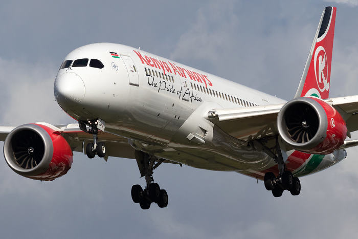 Kenya Airways B787 Dreamliner. Picture: Flickr, featured in article in Africa PORTS & SHIPS maritime news