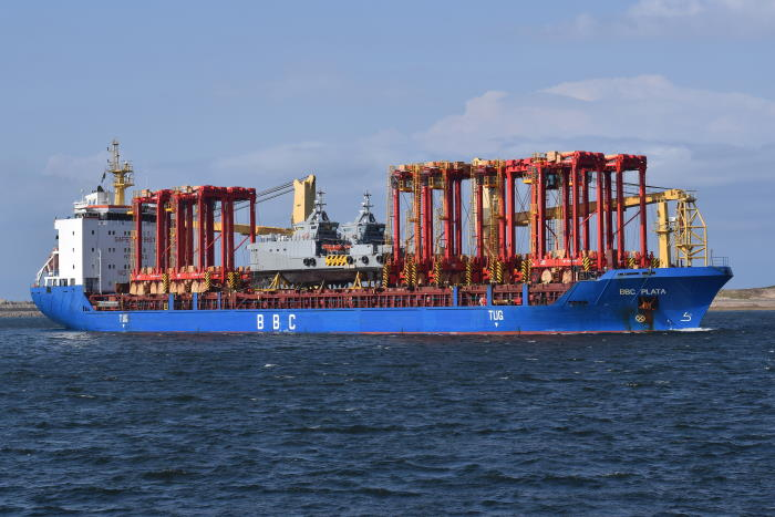 BBC Plata. Picture by Trevor Jones, featured in Africa PORTS & SHIPS maritime news