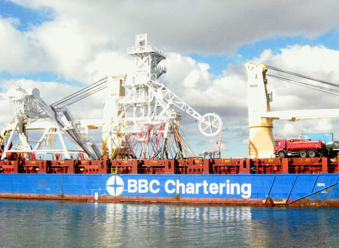 BBC Pearl, Picture by 'Dockrat', featuring in Africa PORTS & SHIPS maritime news