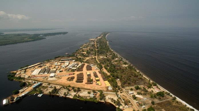 Banana, DRC. Picture by Afritramp Shipping & Stevedoring Agency and featured in Africa PORTS & SHIPS maritime news