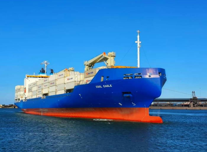 Cool Eagle. Picture supplied by: FPT and featured in Africa PORTS & SHIPS maritime news