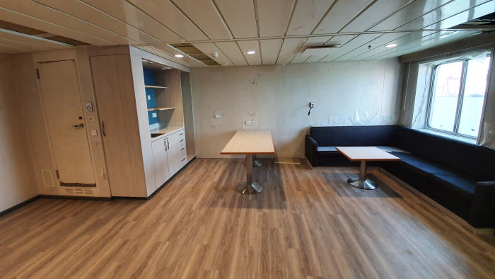 Global Mercy's Family Room,featured in Africa PORTS & SHIPS maritime news