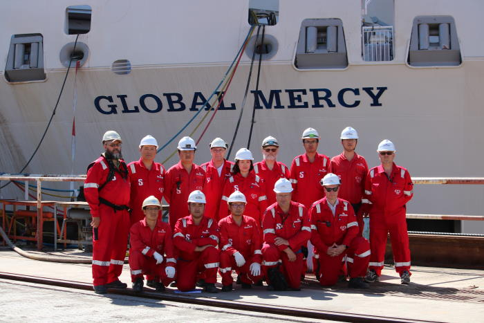 Global Mercy staff featured in Africa PORTS & SHIPS maritime news