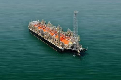 Hilli Episeyo, the FLNG at work off Cameroon, as featured in Africa PORTS & SHIPS maritime news
