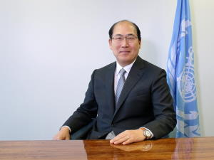 IMO secretary general Kitack Lim, featured in Africa PORTS & SHIPS maritime news