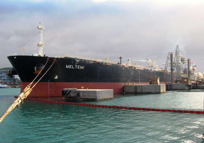 Meltemi - Picture by 'Dockrat' and featured in Africa PORTS & SHIPS maritime news