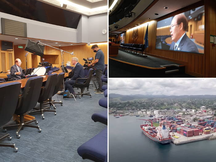 The maritime sector's commitment to act on climate change is highlighted in new video. Picture: www.imo.org IMO ©, featured in Africa PORTS & SHIPS maritime news