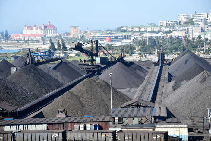 The existing Eastern Cape manganese terminal situated within the port of Port Elizabeth