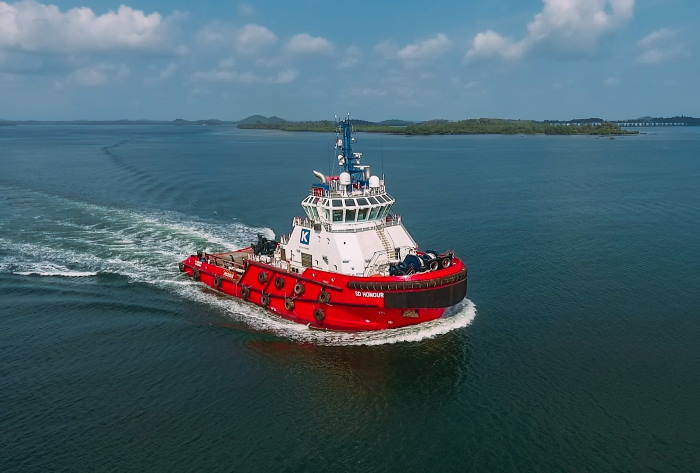 A third Kotug tug, SD Honour will be joining the Spirit and Magic until replaced by anothr of the Kotug fleet